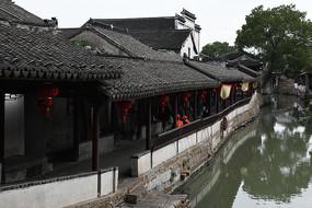 锦溪古镇沿河长廊