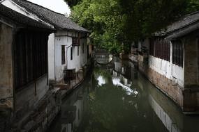 锦溪古镇沿河民居