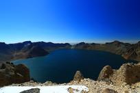 长白山天池湖光山色