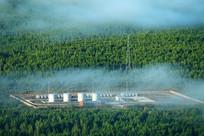 大兴安岭林场燃油储备库油罐