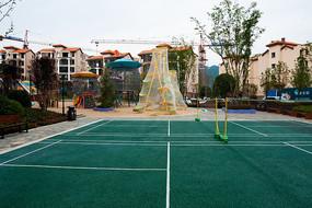 重庆巫山摩天岭小区户外运动场