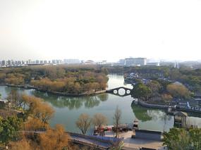 嘉兴冬日南湖