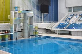 水立方跳台泳池
