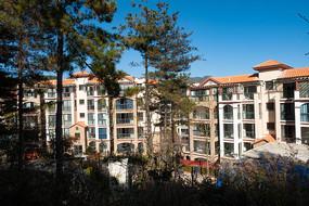 重庆巫山摩天岭漂亮的住宅小区