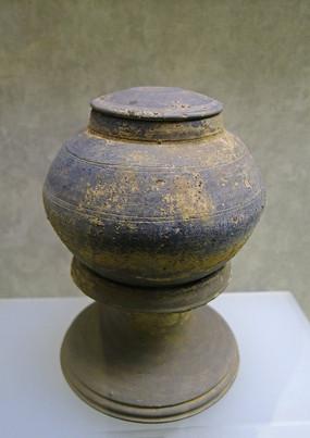 陶罐、陶器座