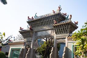 佛山市禅城区祖庙里的门头