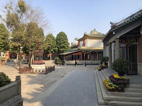 佛山祖庙大院内景