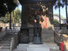 佛山祖庙孔子像