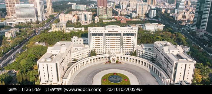 惠州市政府大楼最新航拍图图片