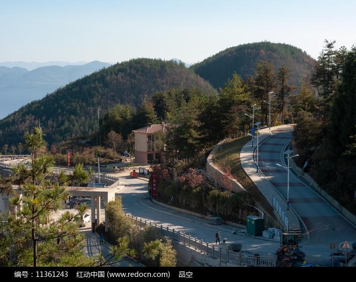 重庆巫山摩天岭美丽的风光图片