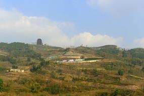 成都龙泉山城市森林公园丹景台