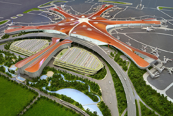 大兴国际机场建筑模型