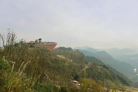 龍泉山森林公園丹景山觀景臺