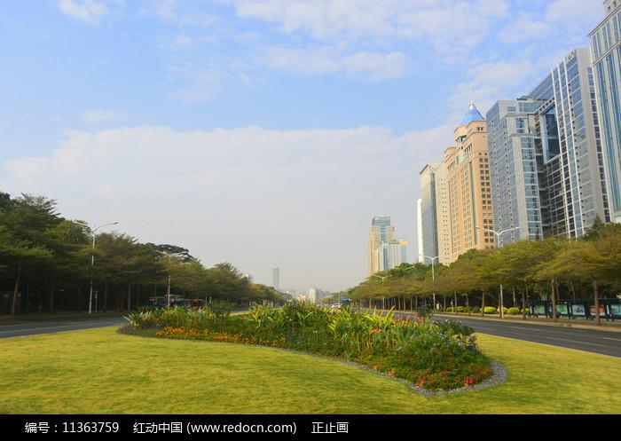深圳竹子林-深南大道图片