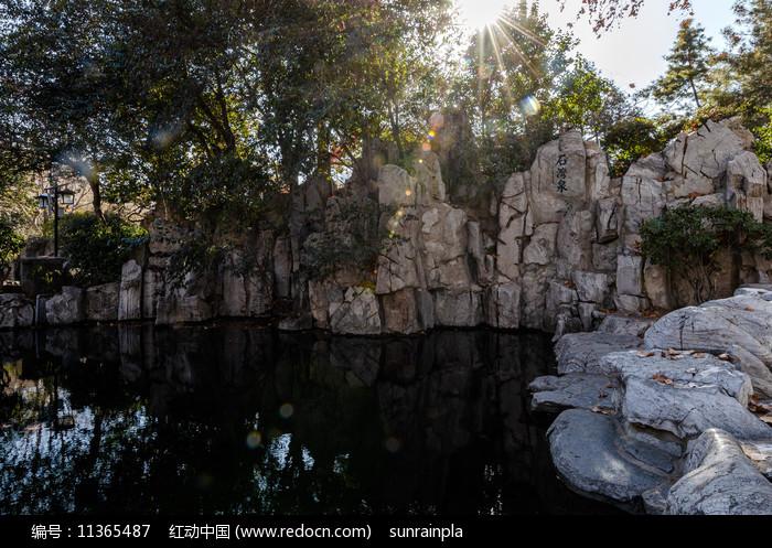 济南石湾泉图片