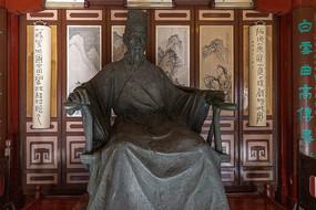 李攀龙雕像