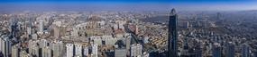 俯瞰濟南綠地中心全景大圖