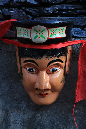 人脸面具傩戏