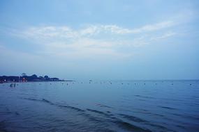 北戴河海濱暮色