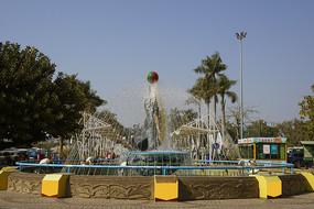深圳野生动物园水景园林喷泉
