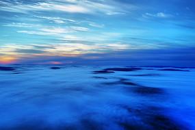 大興安嶺林區林海云霧