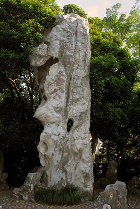 上海桂林公园玲珑太湖石之石公