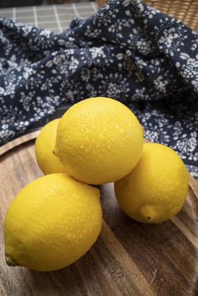 安岳檸檬水果擺盤