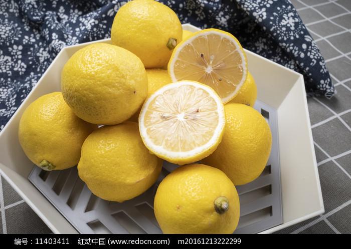 檸檬果盤圖片