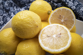檸檬果盤照片