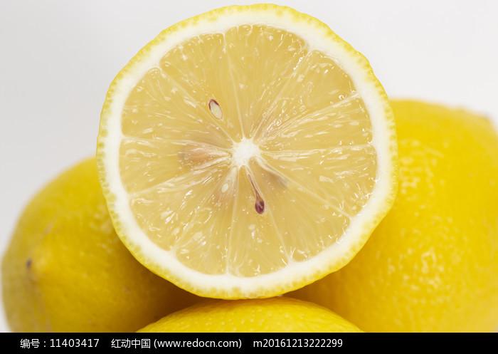 檸檬果肉 圖片