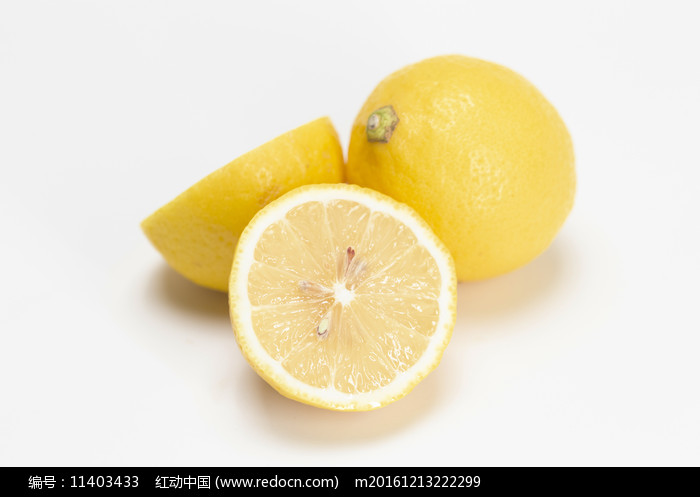 檸檬三角擺放圖片