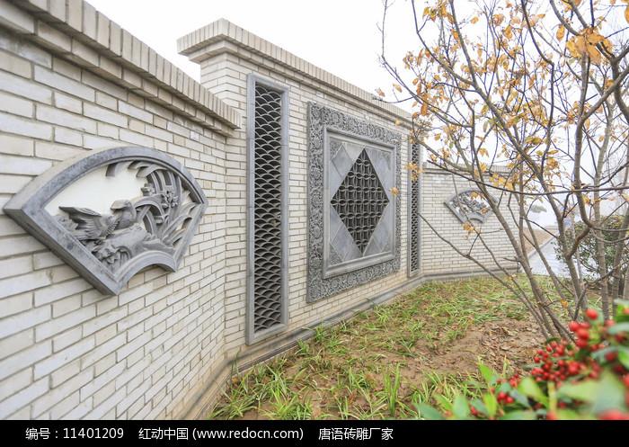 扇形建筑浮雕圖片