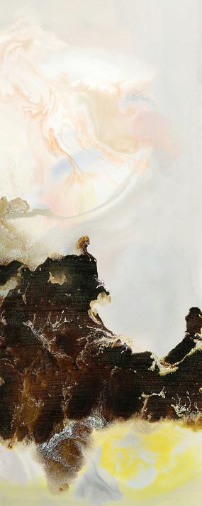 新中式风格水墨装饰画