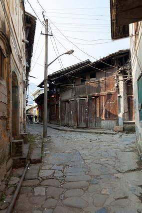 重庆市巫山县龙溪古镇古老的村落
