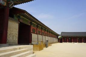 韓國首爾景福宮宮殿建筑