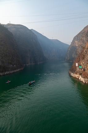 重慶巫山小三峽之龍門峽風光