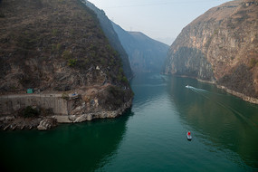 重慶巫山小三峽之龍門峽風景