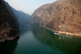 重慶巫山小三峽之龍門峽美景