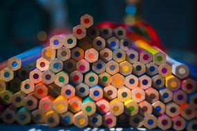 彩色铅笔摄影