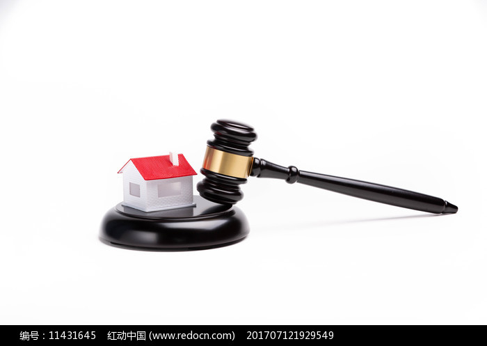 房子与法官锤图片
