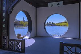 瘦西湖园林美景摄影图
