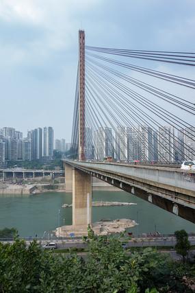 重庆嘉陵江石门大桥美景
