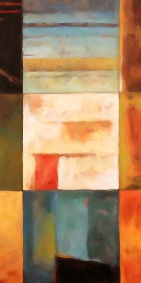 欧美抽象画