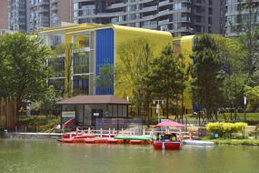 成都江滩公园-幼儿园及码头