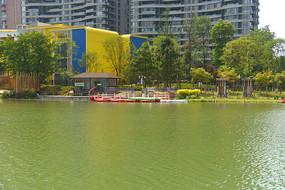 成都江滩公园幼儿园及游船码头