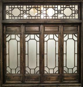 中式仿古窗户