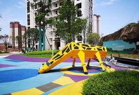长颈鹿景观雕塑