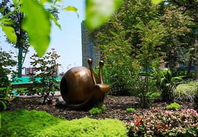蜗牛景观雕塑
