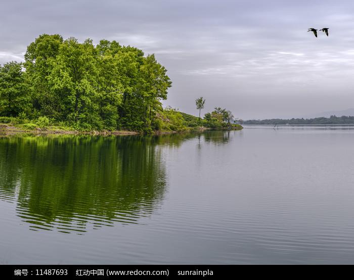 南湾湖摄影图图片