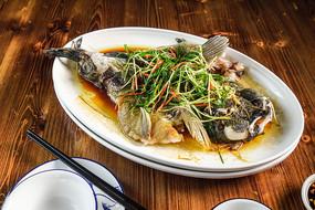 清蒸笋壳鱼